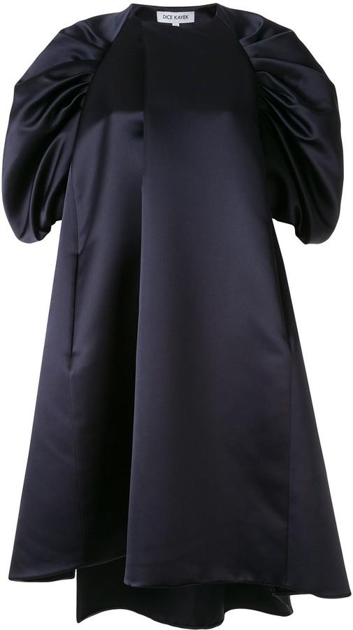 Dice Kayek Puff Sleeve Shift Dress