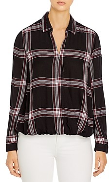 BeachLunchLounge Harper Plaid Shirt