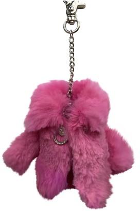 Helen Yarmak Pink Mink Bag charms