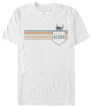 Fifth Sun Men's Stitch Aloha Short Sleeve T-Shirt