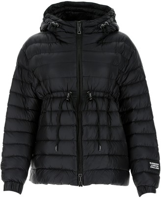 Burberry Hooded Drawstring Puffer Jacket