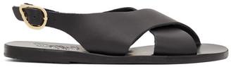 Ancient Greek Sandals Black Maria Sandals