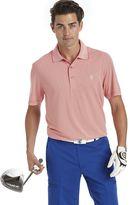 Izod Big & Tall Striped Golf Polo