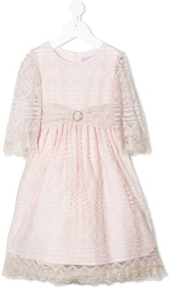 Patachou Lace Cotton Party Dress