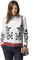 Tommy Hilfiger Wool Embroidered Cardigan