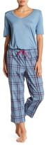 Joe Fresh Drawstring Capri Pajama Pants