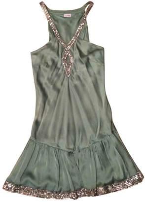 Sass & Bide Green Silk Dresses