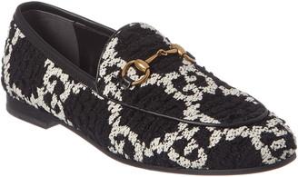 Gucci Jordaan Gg Tweed Loafer