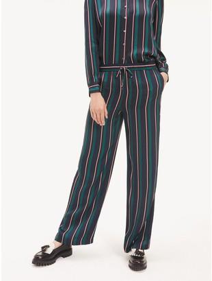 Tommy Hilfiger Stripe Wide-Leg Pant