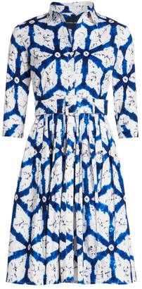 Samantha Sung Audrey Graphic-Print Shirtdress