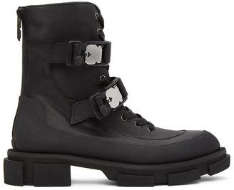 both Black Harness Gao Boots