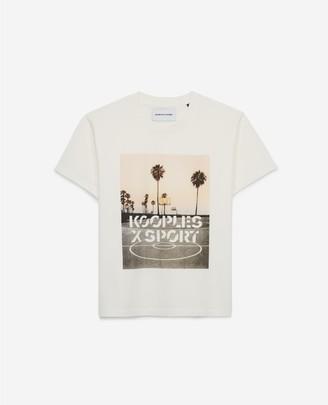 The Kooples Palm-tree print T-shirt