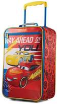 """American Tourister Disney Cars 18"""" Softside Rolling Suitcase By"""