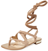 Sam Edelman Davina Suede Lace-Up Sandal