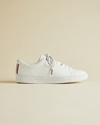 Ted Baker MERATA Webbing detail leather trainers