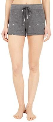 PJ Salvage Shining Star Shorts (Heather Charcoal) Women's Shorts