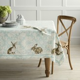 Williams-Sonoma Damask Bunny Tablecloth