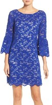 Eliza J Petite Women's Lace Shift Dress