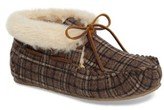 Minnetonka Women's Chrissy Faux Fur Lined Slipper