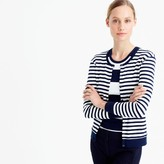J.Crew Perfect-fit striped cardigan