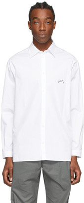 A-Cold-Wall* White Shoulder Panel Shirt