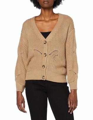 Pieces Women's PCBENITA LS Knit Cardigan Sweater