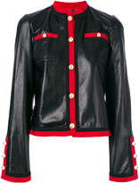 Gucci grosgrain trim jacket