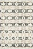 Safavieh TMF127C-6 Thom Filicia Collection Hand-Knotted and Beige Wool Indoor/ Outdoor Area Rug, 6-Feet by 9-Feet