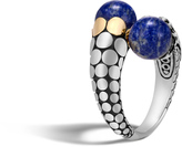 John Hardy Bypass Ring with Lapis