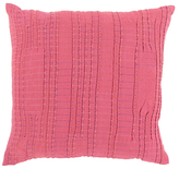 Surya Keaton Cotton and Linen Pillow