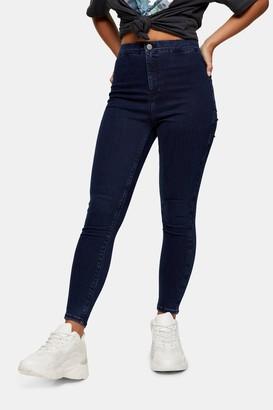 Topshop Womens Petite Indigo Joni Jeans - Indigo