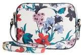 Draper James Elliston Floral Faux Leather Camera Bag