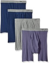 Fruit of the Loom Men's Premium Covered Waistband Boxer Brief (4 Pack)