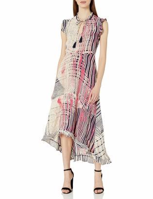 Plenty by Tracy Reese Women's High-Low Midi Dress