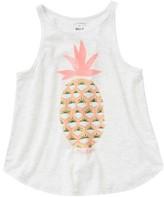 Billabong Girl's Fresh Pineapple Graphic Tank