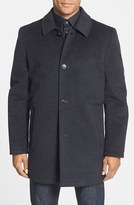 Vince Camuto Men's Water Repellent Wool Blend Car Coat