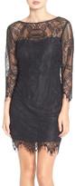 BB Dakota Everton Illusion Lace Sheath Dress