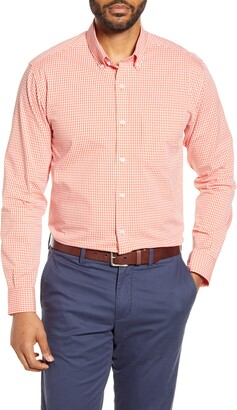 Cutter & Buck Anchor Classic Fit Gingham Button-Down Shirt