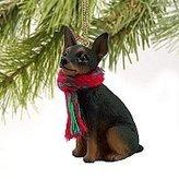 Mini A Ture 1 X Miniature Pinscher Miniature Dog Ornament
