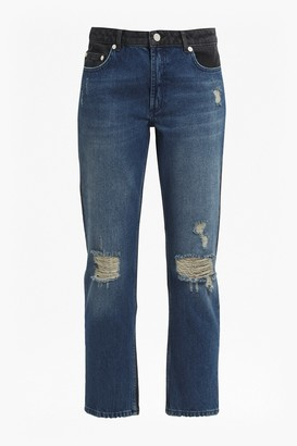 French Connection Indi Mash Up Boyfit Jeans