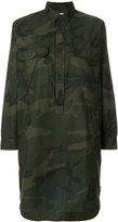 Carhartt camouflage print long shirt