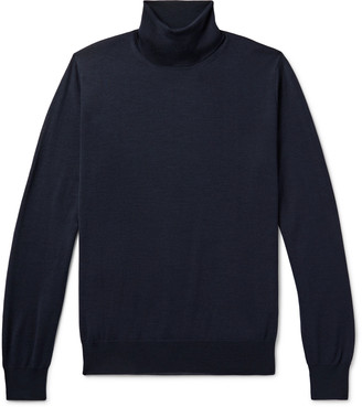 Canali Merino Wool Rollneck Sweater