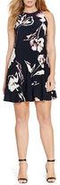 Lauren Ralph Lauren Plus Sleeveless Floral Shift Dress
