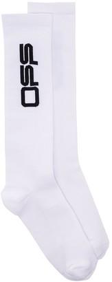 Off-White Off logo socks