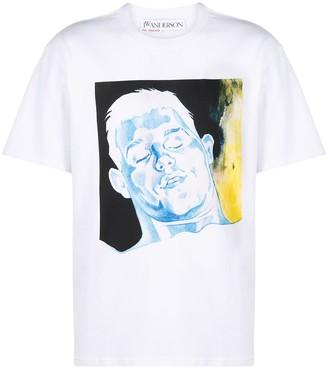 J.W.Anderson face-print T-shirt
