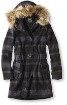 L.L. Bean Women's Plaid Cabin Coat