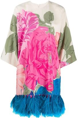Valentino floral print short dress