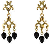 Robin Rotenier 18K Onyx Drop Earrings