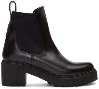 Moncler Black Vera Boots