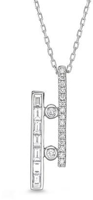 Memoire 18K 0.50 Ct. Tw. Diamond Geo Arts Necklace